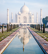 Let's end up this brief series on the Taj Mahal with the classic view from the gate. #India #tajmahal #agra #travelphotography