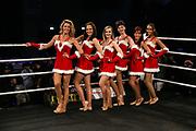 Boxen: x-mas Boxing, Hamburg, 22.12.2017<br /> RInggirls, Nummerngirls, Weihnachten<br /> © Torsten Helmke