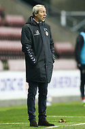 Charlton Athletic Manager Lee Bowyer during the EFL Sky Bet League 1 match between Wigan Athletic and Charlton Athletic at the DW Stadium, Wigan, England on 2 March 2021.