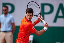 #55, Roland Garros, Paris, FRA, ATP Tour, French Open 2019, im Bild Novak Djokovic (SRB) // Novak Djokovic (SRB) during the the French Open Tournament of the ATP Tour at the Roland Garros in Paris, France on. EXPA Pictures © 2019, PhotoCredit: EXPA/ Vianney Thibaut