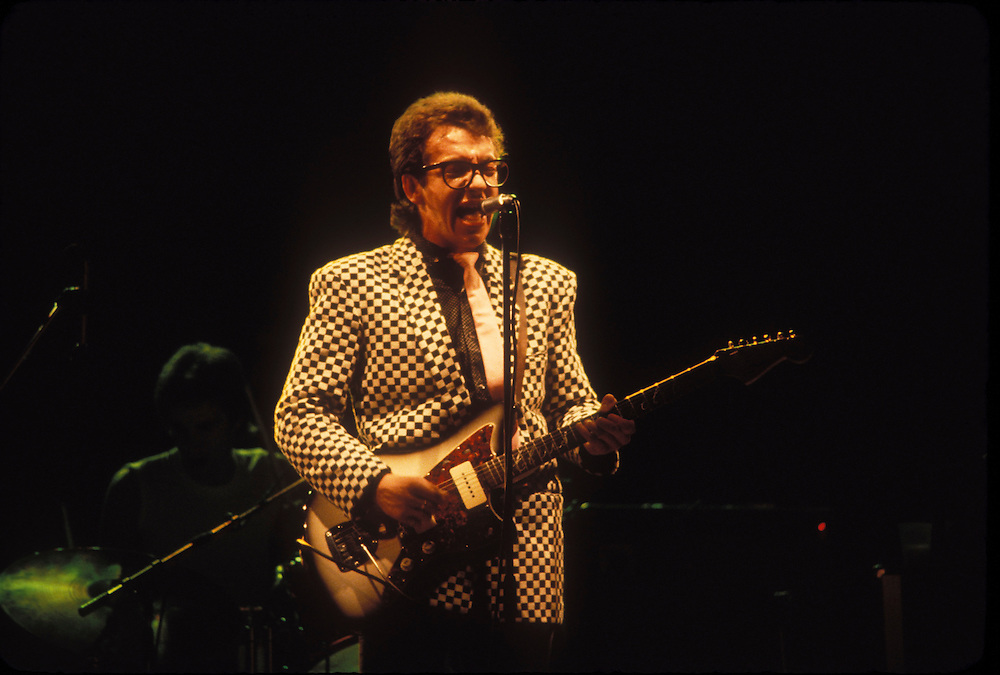 Elvis Costello at the Long Beach Arena, 1978