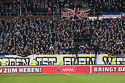 Fussball: 2. Bundesliga, FC St. Pauli - Holstein Kiel, Hamburg, 28.10.2018<br /> Kiel-Fans<br /> © Torsten Helmke