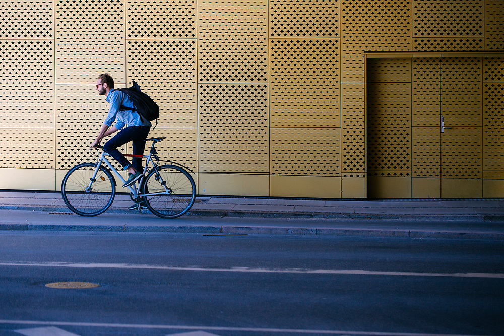 SELF PROPELLED is portrait study of Copenhagen and its residents.
