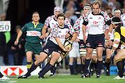 Luke Burgess. NSW Waratahs v Hurricanes. 2010 Super 14 Rugby Union round 14 match played at the Sydney Football Stadium, Moore Park Australia. Friday 14 May 2010. Photo: Clay Cross/PHOTOSPORT
