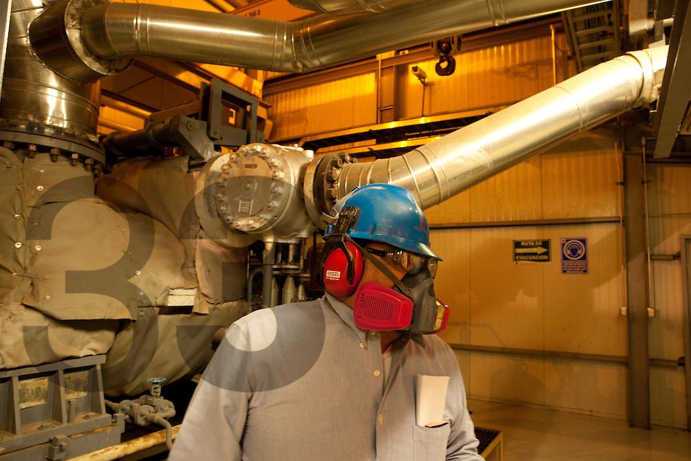 Turbo generador en Met Mex en circuito de Zinc