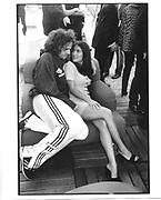 Salma Hayek, Edward Atterton, Lisa Marie cocktails, Martinez Hotel, Cannes Film festival 10th May1997© Copyright Photograph by Dafydd Jones 66 Stockwell Park Rd. London SW9 0DA Tel 020 7733 0108 www.dafjones.com