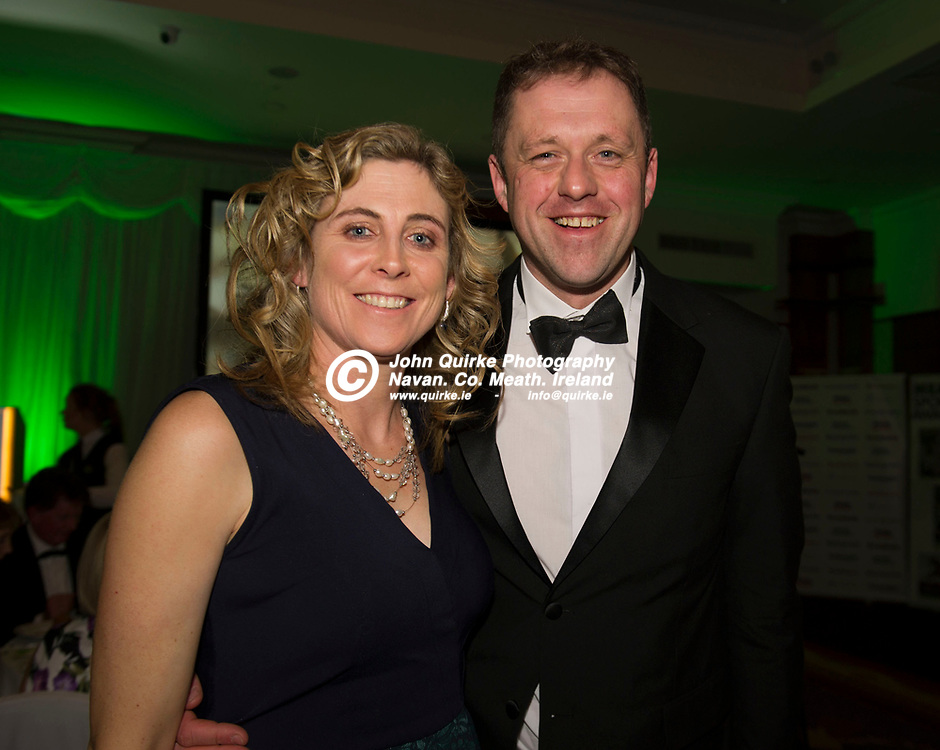 17-01-20. Meath Sports Awards 2019 at the Knightsbrook Hotel, Trim.<br /> Thomas Byrne TD and his wife Ann.<br /> Photo: John Quirke / www.quirke.ie<br /> ©John Quirke Photography, Unit 17, Blackcastle Shopping Cte. Navan. Co. Meath. 046-9079044 / 087-2579454.