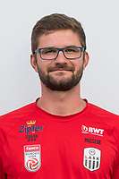 Download von www.picturedesk.com am 16.08.2019 (13:58). <br /> PASCHING, AUSTRIA - JULY 16: Masseur Michael Spreitzer of LASK during the team photo shooting - LASK at TGW Arena on July 16, 2019 in Pasching, Austria.190716_SEPA_19_056 - 20190716_PD12436