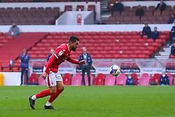 Miguel Angel Guerrero of Nottingham Forest  - Mandatory by-line: Nick Browning/JMP - 29/11/2020 - FOOTBALL - The City Ground - Nottingham, England - Nottingham Forest v Swansea City - Sky Bet Championship
