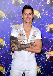 Gorka Marquez arriving at the red carpet launch of Strictly Come Dancing 2019, held at BBC TV Centre in London, UK.