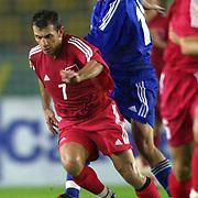 Turkish soccer National team.<br /> Turkey between Liechtenstein match. Turkey's Okan Buruk during their in AliSamiYen Stadium Istanbul/TURKEY .<br /> Photo by Aykut AKICI/TurkSporFoto