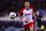 Kieran Gibbs of West Bromwich Albion in action .Premier league match, Leicester City v West Bromwich Albion at the King Power Stadium in Leicester, Leicestershire on Monday 16th October 2017.<br /> pic by Bradley Collyer, Andrew Orchard sports photography.