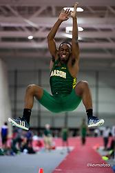 Harvard University<br /> Crimson Elite Indoor track & field meet<br /> mens long jump,