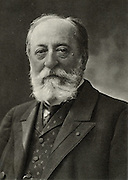 Camille Saint-Saens (1835-1921) French composer and organist.  From a photograph by Nadar, pseudonym of Gaspard-Felix Tournachon (1820-1910).