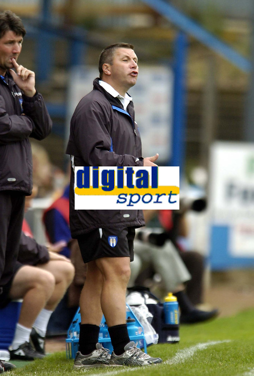 Photo: Olly Greenwood.<br />Colchester United v Derby County. Coca Cola Championship. 26/08/2006. Colchester United manager Geraint Williams