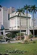City centre of Sao Paulo, Brazil, South America 1962