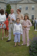 Lord Foster; Lady Foster; Eduardo Foster; Paola Foster, The Cartier Style et Luxe Concours lunch at the Goodwood Festival of Speed. July 13, 2008  *** Local Caption *** -DO NOT ARCHIVE-© Copyright Photograph by Dafydd Jones. 248 Clapham Rd. London SW9 0PZ. Tel 0207 820 0771. www.dafjones.com.