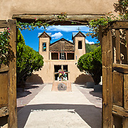 """Located in the stunning Sangre de Cristo Mountains, El Santuario (the shrine) de Chimayo is often referred to as the """"Lourdes of America."""""""