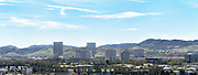 Panoramic Aerial Shot of Irvine Viewed From the Great Park Balloon