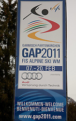 04.02.2011, Garmisch Partenkirchen, GER, FIS Alpine World Championships Garmisch Partenkirchen, Vorberichte, im Bild Preview images for the 2011 Alpine skiing World Championships, EXPA Pictures © 2011, PhotoCredit: EXPA/ M. Gunn