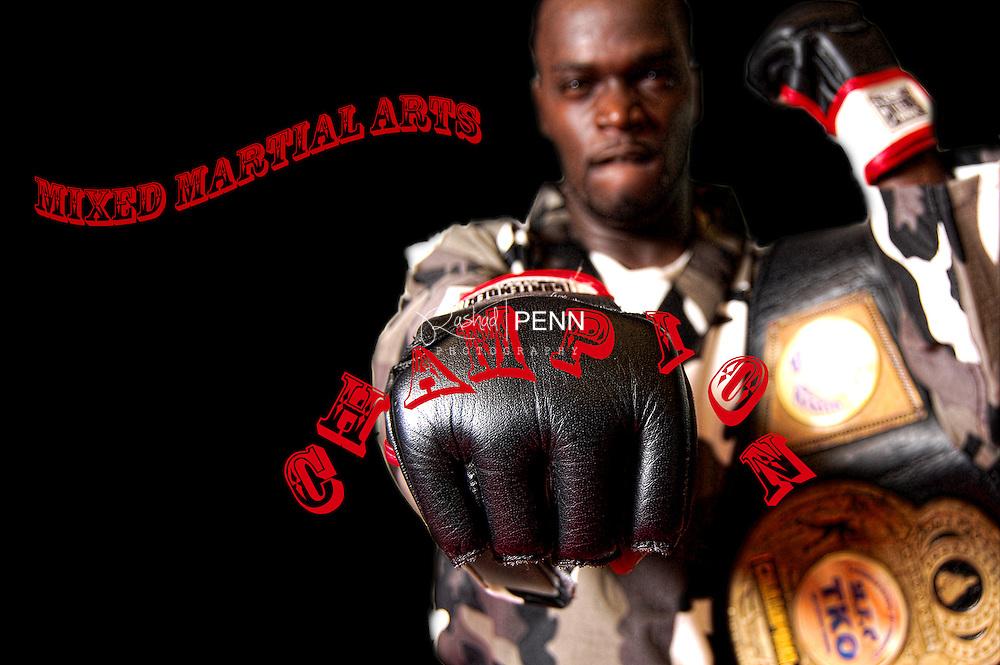 Sports Photography, Martial arts champion. Ronald 'Smokey' Martin