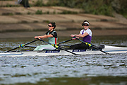 Crew: 54 - Craig / Grant - University of London Boat Club - W 2x Championship <br /> <br /> Pairs Head 2020