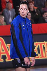 Anja Argenti (23) at handball match of 2nd Round of EHF Women`s Championsleague between RK Krim Mercator (SLO) and Metz Handball (FRA), in Arena Kodeljevo, Ljubljana, Slovenia, on November 9, 2008. Metz  won match against RK Krim Mercator with 31:26.