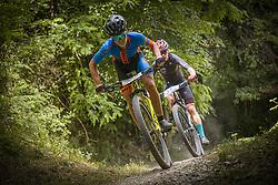 Markelj Tim of KK Zavrsnica during the race of XCO National Championship of Slovenia 2021 on 27.06.2021 in Kamnik, Slovenia. Photo by Urban Meglič / Sportida
