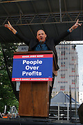 29 April 2010 New York, NY- Michael Mulgrew at The March on Wall Street held at City Hall Park with proceeding March on Wall Street Protest on April 29, 2010 in New York City.