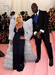 Kris Jenner and Corey Gamble attending the Metropolitan Museum of Art Costume Institute Benefit Gala 2019 in New York, USA.