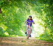 Jenny at Nischke County Park. (Photo © Andy Manis)