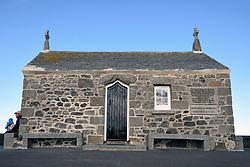 St Nicholas Chapel, St Ives, Cornwall UK. St Nicholas is the patron saint of sailors