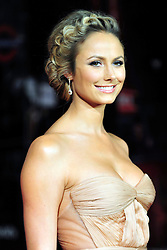 © Licensed to London News Pictures. 20/10/2011. London,England. Stacy Keibler attends the UK Premiere of The Descendants at the 55th British Film Festival in London  Photo credit : ALAN ROXBOROUGH/LNP