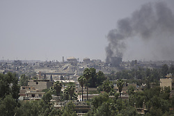 June 22, 2017 - Mosul, Iraq - Fighting in Mosul continues as the Iraqi forces push Islamic State back towards the Tigris. Mosul, Iraq, 22 June 2017  (Credit Image: © Noe Falk Nielsen/NurPhoto via ZUMA Press)