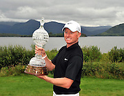 Simon Dyson from England winner of the Irish Open Golf Championship at Killarney Golf Club on Sunday..Picture by Don MacMonagle