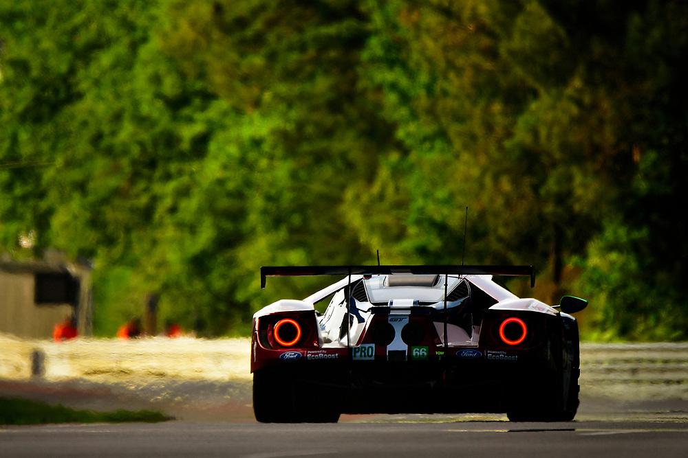 #66 Ford Chip Ganassi Racing Ford GT: Stefan Mücke, Olivier Pla, Billy Johnson<br /> Wednesday 13 June 2018<br /> 24 Hours of Le Mans<br /> 2018 24 Hours of Le Mans<br /> Circuit de la Sarthe  FR<br /> World Copyright: Scott R LePage