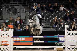 Larocca Jose Maria, ARG, Diablo Blanco<br /> Jumping Indoor Maastricht 2016<br /> © Hippo Foto - Dirk Caremans<br /> 12/11/2016