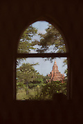 A pagoda in the ancient city complex of Bagan, Myanmar