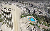 Drone footage shows how Syrian city of Aleppo still appears a modern thriving town in government-hel
