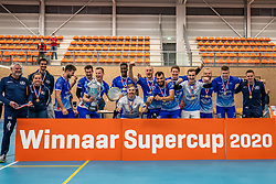 Lycurgus wins the Supercup by beating Orion 3-1. Supercup final between Amysoft Lycurgus - Active Living Orion on October 04, 2020 in Van der Knaaphal, Ede