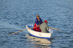 Boaters On Lake Titicaca