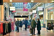 Nederland, Veendendaal, 29-1-2013Winkelcentrum passage de Corridor, een groot overdekt winkelgebied.Foto: Flip Franssen