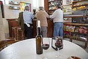 Men in local village bar cafe, Arcos de la Frontera, Spain