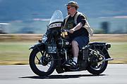 US Army Harley Davidson at WAAAM.