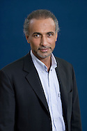 Swiss-born academic and writer Tariq Ramadan, pictured at the Edinburgh International Book Festival where he talked about his latest book entitled 'What I Believe.' The three-week event is the world's biggest literary festival and is held during the annual Edinburgh Festival. The 2010 event featured talks and presentations by more than 500 authors from around the world.