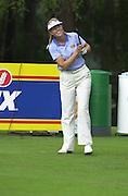 2001 Weetabix Women's British Open, Sunningdale Golf Course, Berks, Great Britain<br />  <br /> [Mandatory Credit Peter Spurrier/Intersport Images]<br /> <br /> Friday 3rd August 2001<br /> Weetabix Women's British Open<br /> Sweden's Carin Koch
