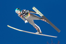 Michael Hayboeck (AUT) during the Qualification round of the Ski Flying Hill Individual Competition at Day 1 of FIS Ski Jumping World Cup Final 2019, on March 21, 2019 in Planica, Slovenia. Photo by Matic Ritonja / Sportida