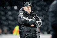 Russell Slade (Cardiff City) during the Sky Bet Championship match between Hull City and Cardiff City at the KC Stadium, Kingston upon Hull, England on 13 January 2016. Photo by Mark P Doherty.