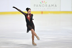 05.12.2015, Dom Sportova, Zagreb, CRO, ISU, Golden Spin of Zagreb, freies Programm, Damen, im Bild Elizaveta Tuktamysheva, Russia. // during the 48th Golden Spin of Zagreb 2015 ladys Free Program of ISU at the Dom Sportova in Zagreb, Croatia on 2015/12/05. EXPA Pictures © 2015, PhotoCredit: EXPA/ Pixsell/ Davor Puklavec<br /> <br /> *****ATTENTION - for AUT, SLO, SUI, SWE, ITA, FRA only*****