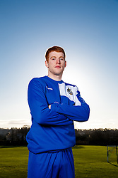 New signing Rory Gaffney of Bristol Rovers poses during a portrait session during the 2015/16 Sky Bet League Two campaign - Mandatory byline: Rogan Thomson/JMP - 07966 386802 - 15/01/2016 - FOOTBALL - The Lawns Training Ground - Bristol, England - Sky Bet League Two.